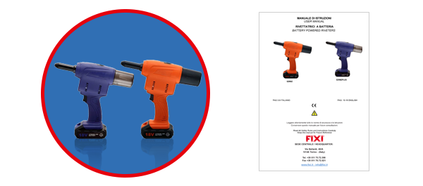 battery powered riveter manual